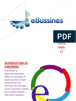 Introduction of E-business