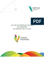 Ley de Catastro Del Edo de Veracruz