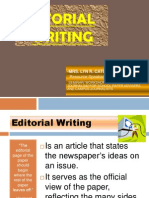 Editorial Writing