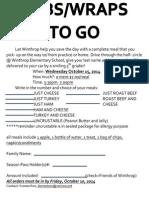 Sub Flyer Oct 15, 2014