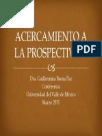 Acerca Mien to a La Prospect Iva 2011