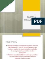 Presentacion Costos y Presupuestos