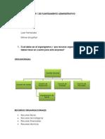 Desarrollo Del Taller 1 de Planteamiento Administrativo