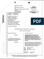 Noriega v. Activision - Call of Duty Anti-SLAPP Motion