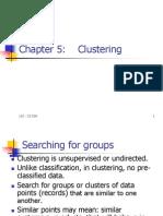 CS583 Clustering