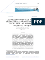 procesos afectivos - tesis