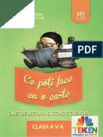 Carti Caiet.de.Lectura.si.Scriere.creativa Clasa.5 Ed.art.Grup.editorial