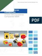 WEG Seccionadoras Compactas 50036516 Catalogo Portugues Br