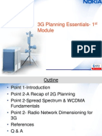 3G Radio Planning Essentials- Module 1