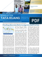 Newsletter Tata Ruang dan Pertanahan Edisi September 2014