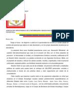 Carta Para Tratados
