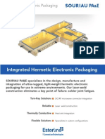 Integrated Electronic Packaging