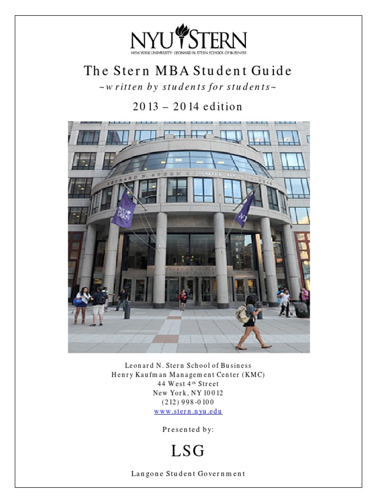 Nyu stern guide master of business administration email reheart Images