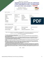 BUSES CIKTUR - Transacción Exitosa