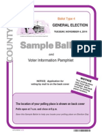Inyo County Sample Ballot 4