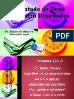 A Vontade de Deus Em Quatro Dimensões