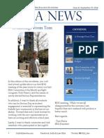 SBA Newsletter 4 - 9/29/14