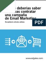 Lo Que Deberias Saber Para Contratar Email Marketing