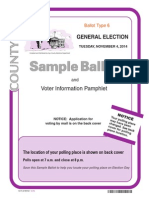Inyo County Sample Ballot 6