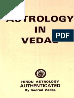 J N Bhasin - Astrology in Vedas | Planets In Astrology | Hindu Astrology