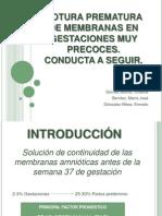 19. Rotura Prematura Presentación
