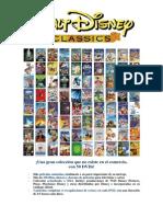 Nueva Colección Disney 2014 - 50 DVDs