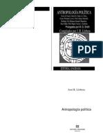 Llobera j Compilador 1979 Antropologia Politica