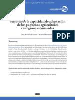 Mejorando la capacidad de adaptación de los pequeños agricultores en regiones semiáridas