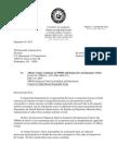 Letter to USDOT Secretary Anthony Foxx
