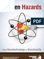 Unseen Hazards from Nanotechnology to Nanotoxicity – Food & Water Europe