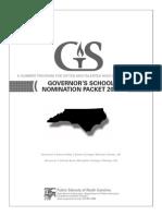 Governament School Complete Packet 2013