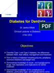 (38) Diabetes for Dentists
