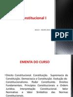 Curso Completo - Direito Constitucional I - 2014.2