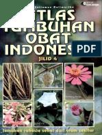 Atlas Tumbuhan Obat INDONESIA JILID 4 - Farmasi