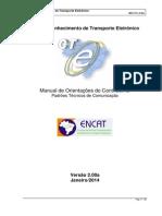 Manual CTe v2.00a