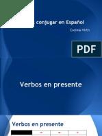 verbos en espanol - google slides