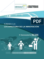 Locomotora de la innovación - Folleto Digital Informativo