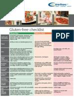 Gluten Free Checklist Amended