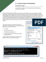 BrainFood - Share & NTFS Permissions