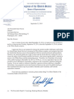 2014-09-23 DEI to Pierson-USSS - Classified Briefing Response