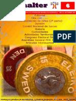 Revista Española de Halterofilia 2da Edicion Tallas 1Rm