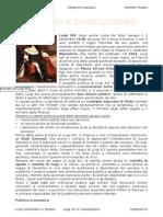 Luigi XIV e l'Assolutismo