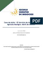 Caso de Éxito - El Servicio de Información Agrícola MasAgro - Móvil de México