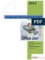 Pelatihan Pengenalan Word -2007