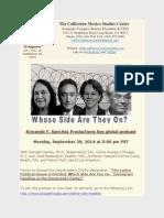 CMSC Newsletter 19 Vol. 3 September 28 2014