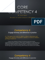 core competency 4