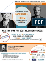 LA County Supervisor's Forum -- Oct. 29