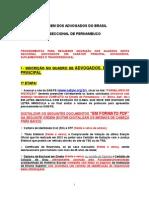 NOVO Inscrições OAB PE Procedimentos