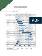Programacion y Cronograma Parque