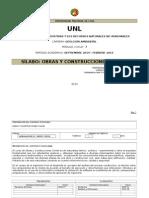 Silabo Obras y Const. Civiles Version 2